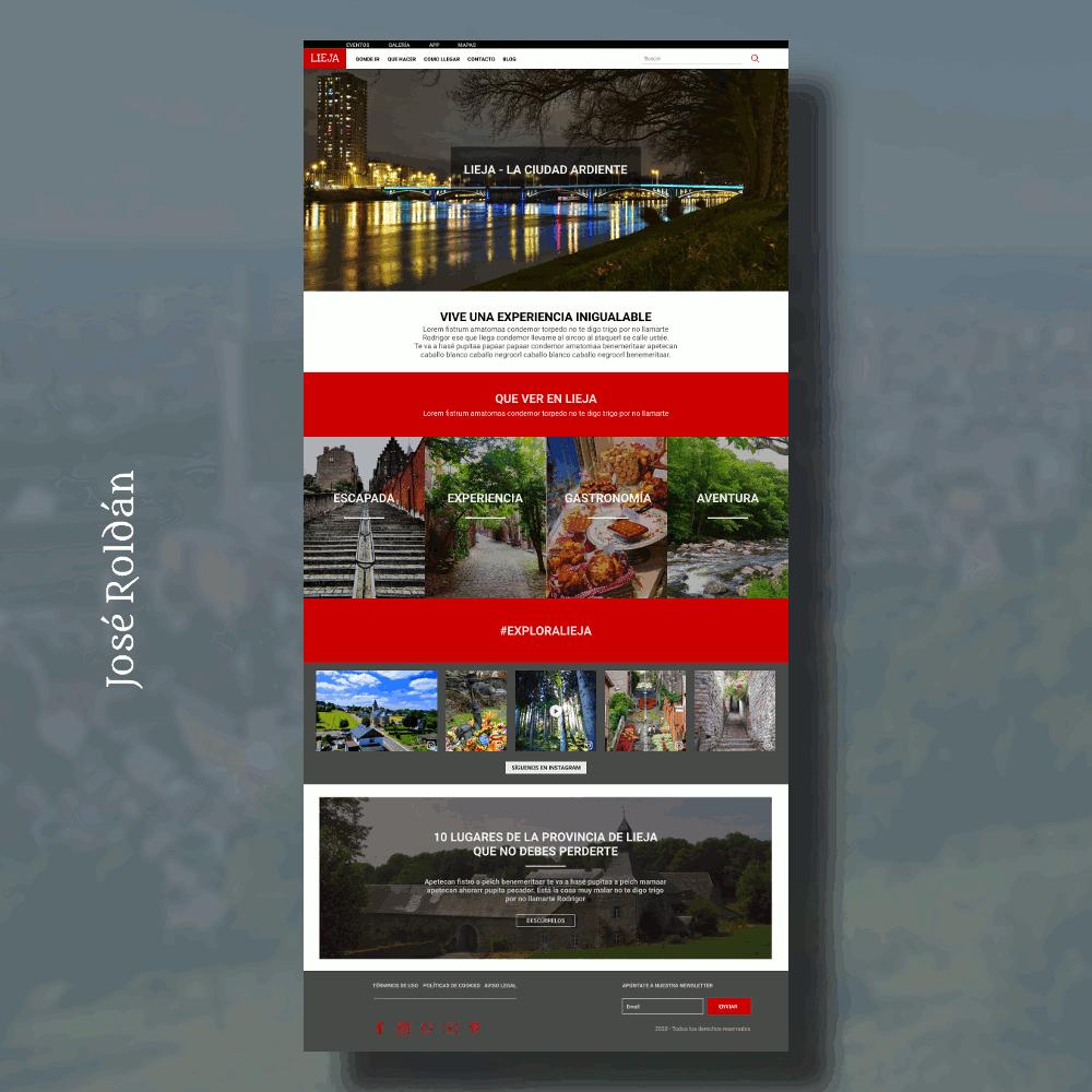 Diseño web José Roldán